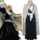 Bleach Kurosaki Ichigo Men's Execution Ground Cosplay Costume