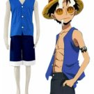 One Piece Luffy Cosplay Costume(Version 2)