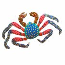 Haitian Metal Art Crab - FREE U.S. and Canada shipping!