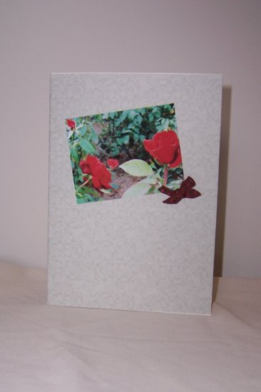Rose Notecard - FREE shipping!