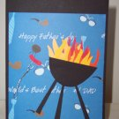BBQ Father's Day Card - FREE shipping!