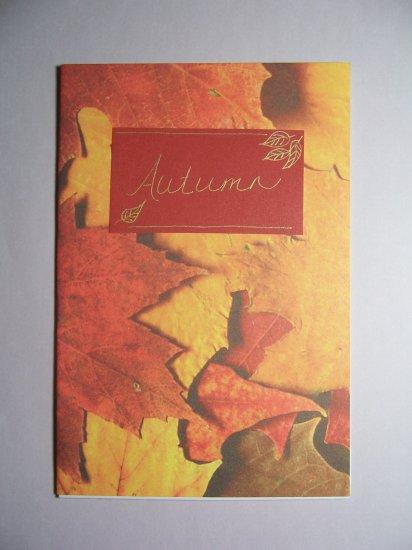 Autumn card - FREE shipping!