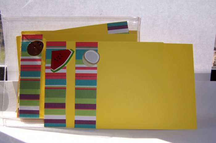 Fun Fruits Notecard Set-FREE Shipping!