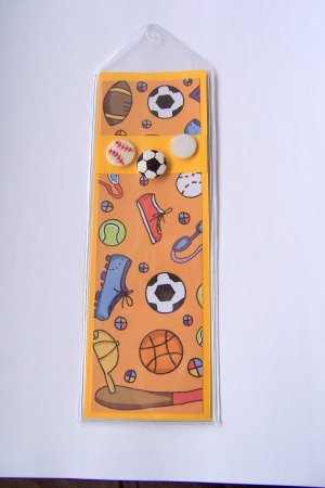 Sporty Bookmark- FREE Shipping!