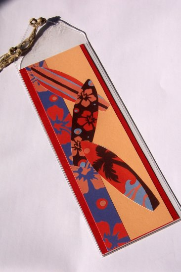 Surf Bookmark- FREE Shipping!