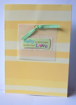Baby Card - FREE shipping!