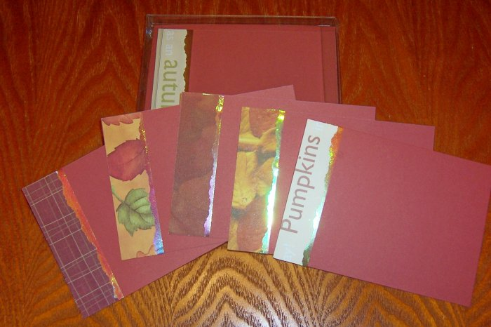 Autumn Note Card Set-FREE Shipping!