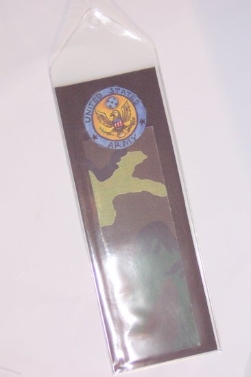 Army Bookmark- FREE Shipping!