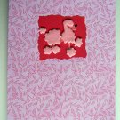 Pink Poodle Birthday Card