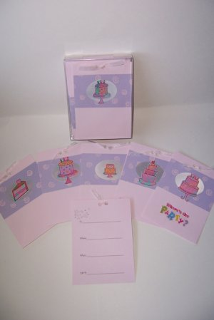 Birthday Party Invitations  FREE shipping!