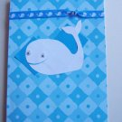 Whale Birthday Card - FREE shipping!