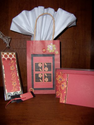 Flora/Fauna Red Gift Set - FREE shipping!
