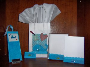 I Heart Whales Gift Set - FREE shipping!