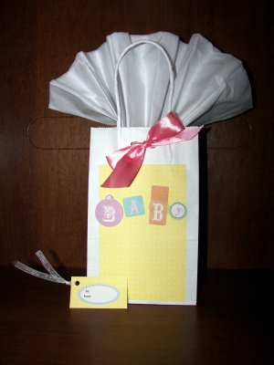 Baby Gift Bag - FREE shipping!