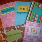 5 All Occasion Greeting Cards-FREE Shipping!