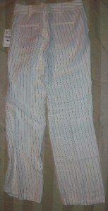 NWT Zara Basic Flat Front Linen Career Pants 2 NEW $79