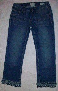 Taverniti Denim LA Peggy Detailed Capri Jeans 28NEW$209
