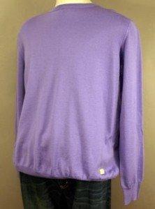 NEW Valentino Italy Thin Knit Crew Neck Sweater L $325