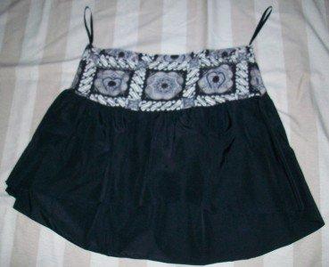 NWT Susie Mooratoff High Waist Runway Skirt 30 $185 NEW