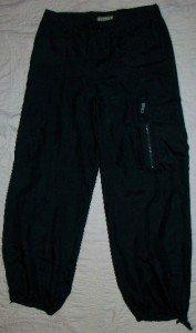 NEW Hamnett Italy Thin 100% Silk Cargo Pants 8 31 $850