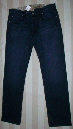 NEW RICH & SKINNY Dk Wash Straight Leg Jeans 26 33 $196