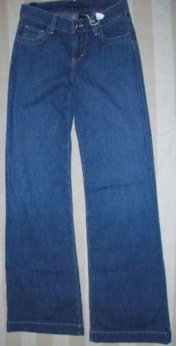 NEW BLUJEANIOUS Denim Wide Leg Jeans 25 27 $180