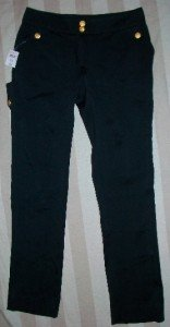 NWT MOSCHINO IT Silky Wool Trouser Pants 44 10 $925 NEW