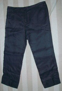 SHARON WAUCHOB Silk Cashmere Trouser Pant NEW 40 6 $465