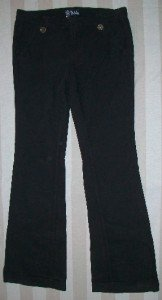 NWT ANLO Button Tab Bootcut Cord Pants 29 32x34$210 NEW