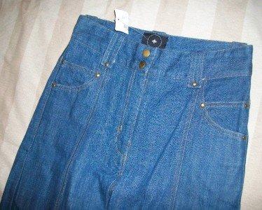 NEW JEAN D'ARC High Waist Wide Leg Jeans 27 28 x34 $242