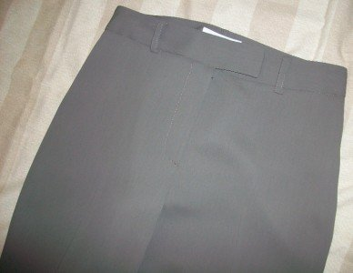 Votre Nom Mink Green Dress Trouser Pants 2 $173 NEW