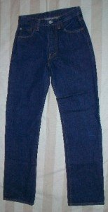 Replay Italy Dark Straight Leg Classic Jeans 28 x 30