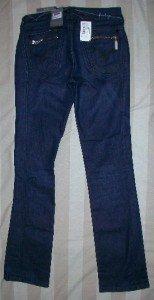 NWT Firetrap UK Dk Indigo Slim Straight Jeans 27 x 32