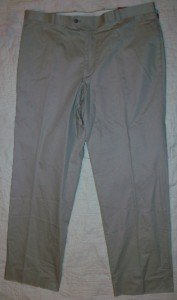 NWT Alfani Beige Khaki Slacks Chino Pants 38 30 NEW$145