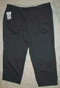 NWT Ralph Lauren Gray Trousers Wool Pants 42 25$125 NEW