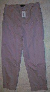 NWT Sutton Studio Purple Light Slacks Pants 8P NEW $79