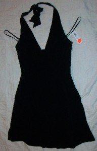 NWT Laundry Black Club Wear Dress 8 Stretch NEW $195