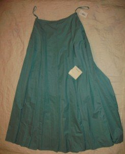 NWT Sutton Studio A-Line Mint Aqua Green Skirt 4 $249