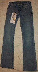 NWT DE HOGHTON Respectable Bootcut Jack Jeans 24 $205