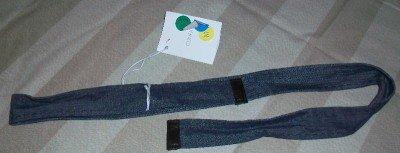 NWT Gunex Cucinelli Italy Denim Wrap Tie Belt 6 $165