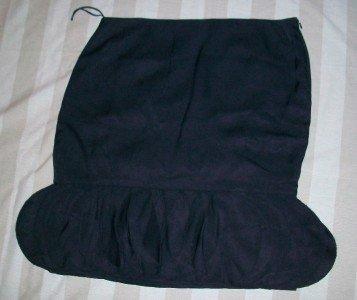 NWT RALPH LAUREN Black Label Petal Ruffle Skirt 16 $998