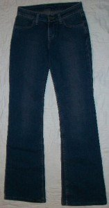 NWT Blujeanious #2138D Low Rise Jeans 25 26 x32$180 NEW
