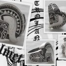 925 SILVER HELMET TROJAN WARRIOR TRIBAL RING US 11.25