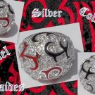 925 SILVER COLOURFULL TRIBAL ENAMEL LADIES RING US 7.5