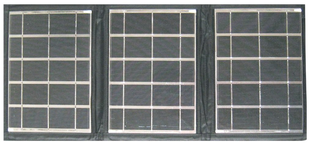 15W Light Weight Solar Panel Portable Folding kit 40Wh Battery Charger NEW