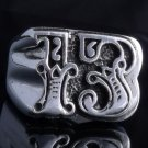 925 STERLING SILVER LUCKY 13 BIKER RING US sz 13