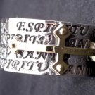 925 Silver Sterling Espiritu Cross Ring US sz 11