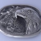 STAINLESS STEEL EAGLE BIKER CHOPER ROCKSTAR BELT BUCKLE