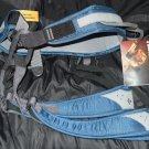 NEW Black Diamond Momentum Blue Denim Rock Climbing Harness XL