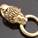 Brass Lion Head Biker Chopper Pendant